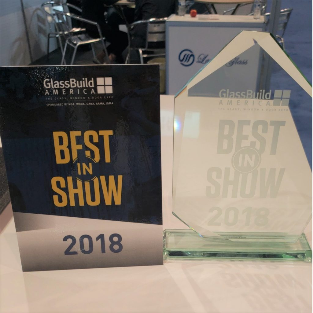 Best in Show at GlassBuild America