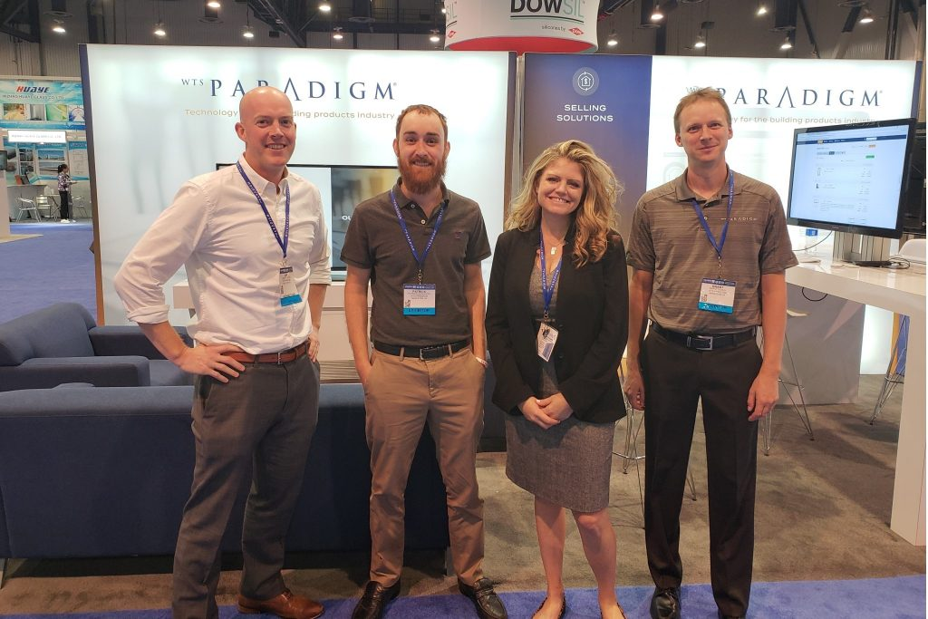 WTS Paradigm Team at GlassBuild America