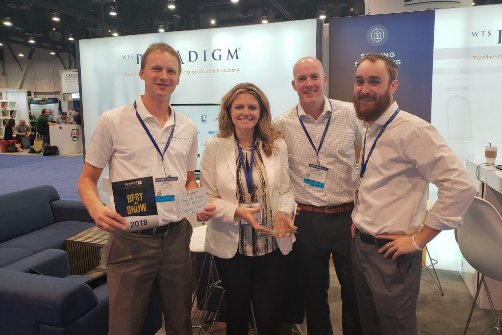 WTS Paradigm wins Best in Show at GlassBuild America